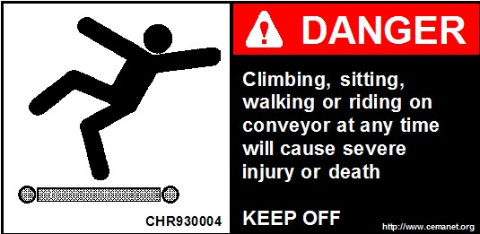 Safety Labels Horizontal Cema