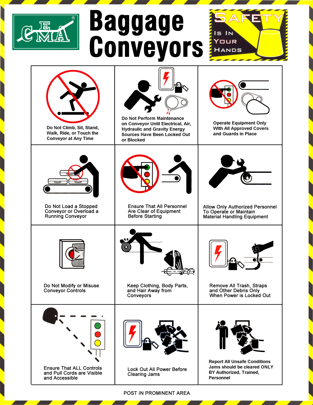 CEMA Safety Posters - CEMA