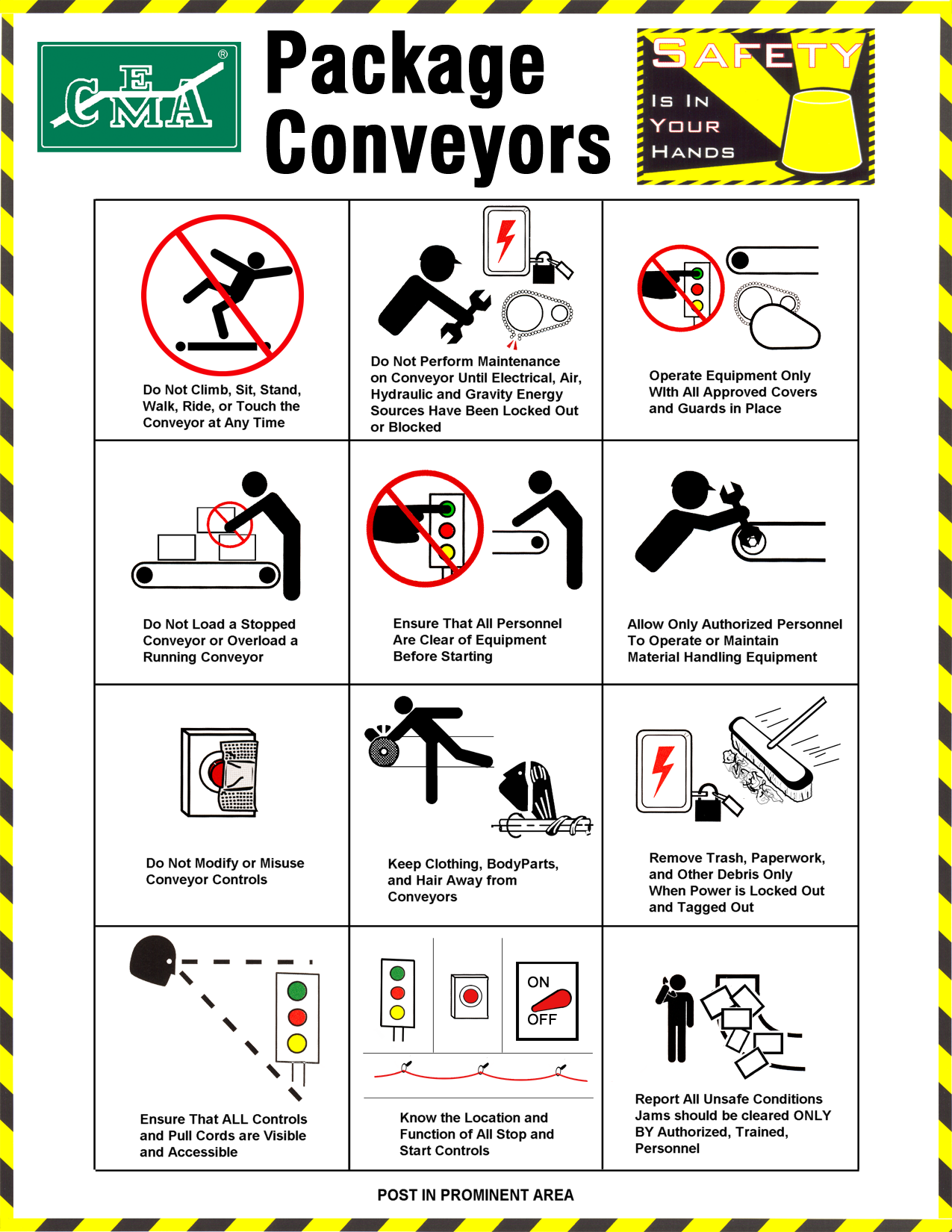 cema safety posters   cema
