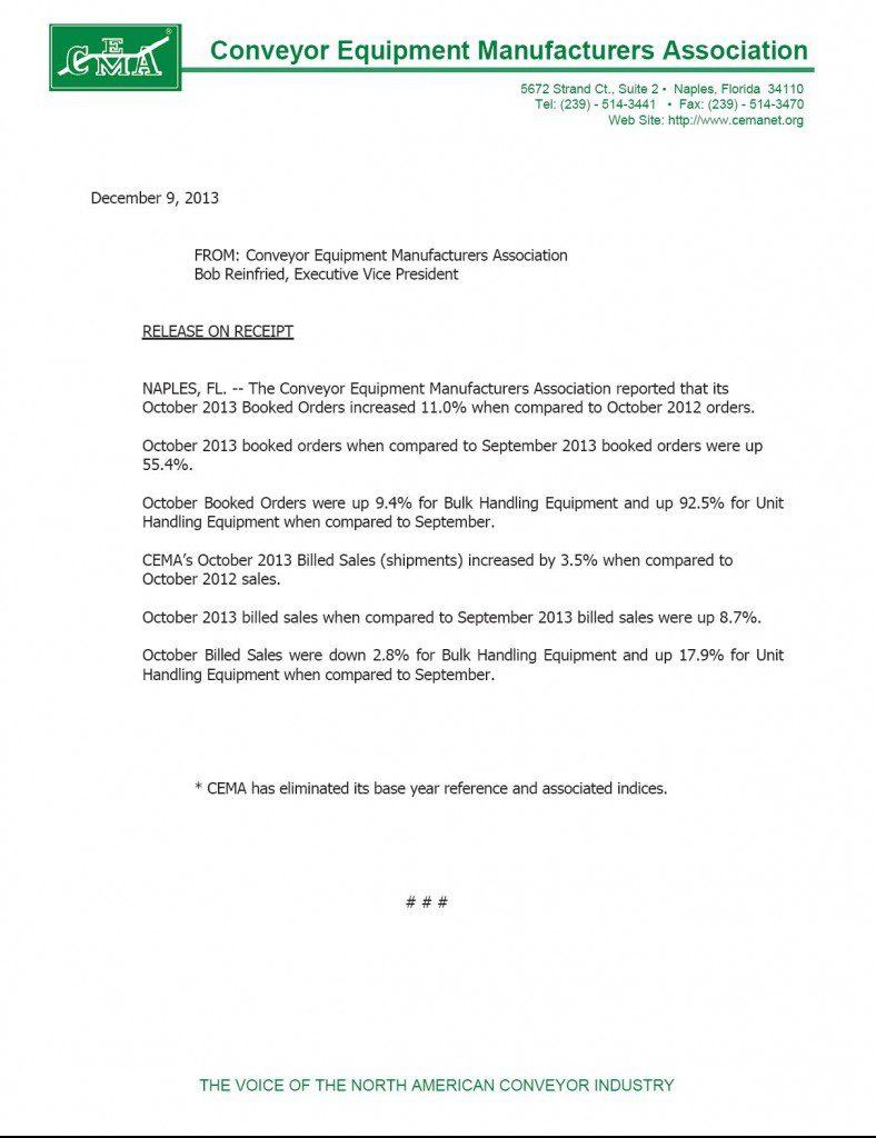CEMA-Statistics-October-2013