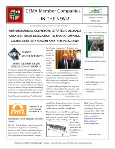 April 2013 CEMA Mbr in the NEWs
