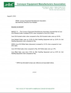 CEMA Statistics June 2014