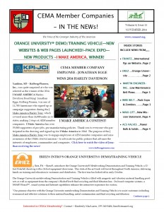 November 2014 Newsletter pic