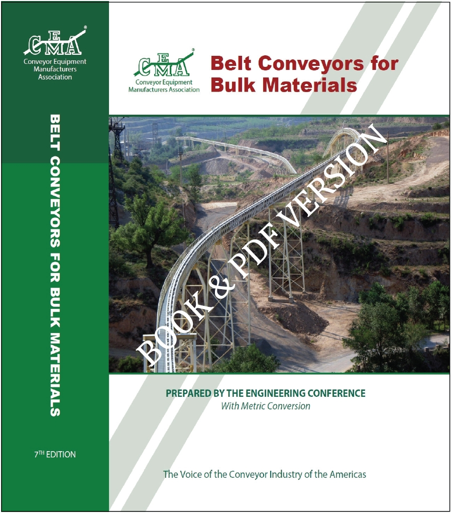Belt book, 7th edition, CEMA, Bulk Material Handling, conveyors